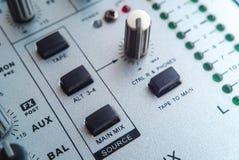 Fotografia analogowy audio melanżer zdjęcie royalty free