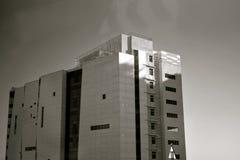 Fotografia architettonica moderna dell'edilizia Immagini Stock Libere da Diritti