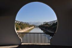 Fotografia arquitetónica da cidade velha do cofre-forte de China Yunnan Tengchong Fotos de Stock Royalty Free