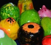 Fotografia artificial do fundo dos frutos dos artesanatos Imagens de Stock