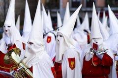 Semana Santa w Avila (Hiszpania) Zdjęcia Royalty Free