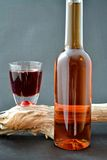 Ajerkoniak butelka Zdjęcie Royalty Free