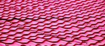 Fotografia colorida do fundo da parte superior do telhado Foto de Stock Royalty Free