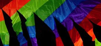 Fotografia colorida do fundo dos objetos Fotografia de Stock Royalty Free