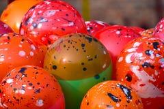 Fotografia colorida dos balões Imagem de Stock