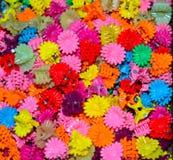 Fotografia colourful di fermagli per capelli Fotografie Stock