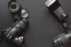 Fotografia com câmera Fotos de Stock
