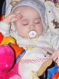 Sonho do bebê Fotografia de Stock