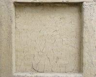 Posto adatto sulla parete dell'argilla Immagine Stock Libera da Diritti