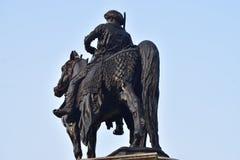 Fotografia conservada em estoque dos monumentos da estátua Foto de Stock Royalty Free