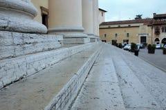 fotografia da bancada da catedral de Treviso imagens de stock royalty free