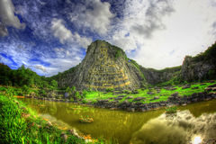 Fotografia da paisagem e da rua de HDR Imagens de Stock Royalty Free