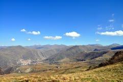 Fotografia da paisagem da montanha foto de stock royalty free