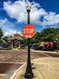 Fotografia da rua no wintergarden Foto de Stock