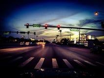 Fotografia da rua no wintergarden Imagem de Stock