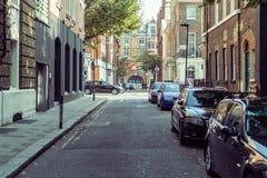 Fotografia da rua, rua de Streatham em Londres fotos de stock royalty free