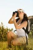 Fotografia da tomada da mulher nova imagem de stock royalty free