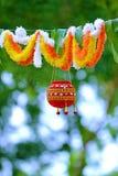 Fotografia dahi handi na gokulashtami festiwalu który jest władyki Shri Krishna ` s narodziny dniem w ind, obrazy royalty free