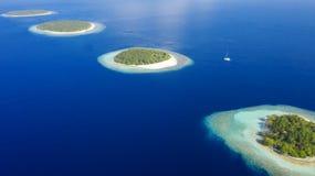 Fotografia das ilhas do zangão imagens de stock