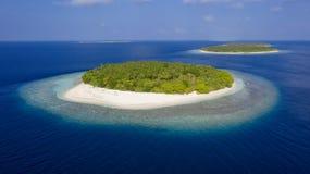 Fotografia das ilhas do zangão fotos de stock