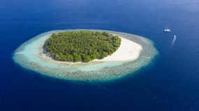 Fotografia das ilhas do zangão foto de stock