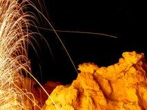 Fotografia de palhas de aço Foto de Stock