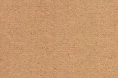 A fotografia de recicla a textura listrada do Grunge do papel de embalagem de Brown da grão grosseira fotografia de stock