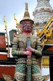 Fotografia de uma estátua do guardião Fotografia de Stock Royalty Free