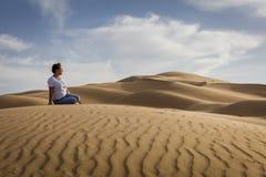 Fotografia del deserto Fotografie Stock Libere da Diritti