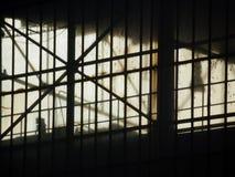 Fotografia del dettaglio di vecchia fabbrica Immagine Stock