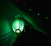 Fotografia del fondo della luce della decorazione di ingordigia Fotografia Stock