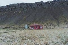 Fotografia del paesaggio di stordimento Islanda Viaggiando dai fiordi ghiacciati alle montagne nevose per ghiacciare le lagune Fotografie Stock Libere da Diritti