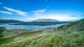 Fotografia del paesaggio di una montagna in Islanda Fotografie Stock