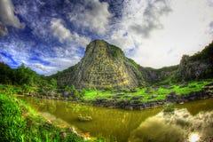 Fotografia del paesaggio e della via di HDR immagini stock libere da diritti