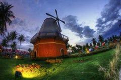 Fotografia del paesaggio e della via di HDR immagine stock libera da diritti