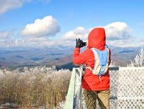 Fotografia del turista della donna Fotografia Stock