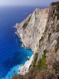 Fotografia dell'aria, isola di Zante, Grecia Fotografie Stock