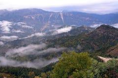 Fotografia dell'aria, Joumerka, Grecia Immagini Stock