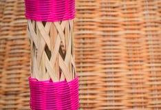 Fotografia dell'oggetto fatta bambù Fotografia Stock