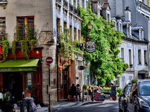 Fotografia della via a Parigi, Francia Immagine Stock Libera da Diritti