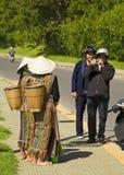 Fotografia delle minoranze del Vietnam fotografie stock