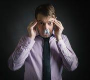 Fotografia di concetto del cattivo odore fotografia stock libera da diritti