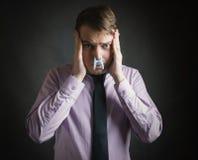 Fotografia di concetto del cattivo odore fotografia stock