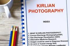 Fotografia di Kirlian fotografie stock libere da diritti