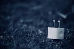 Fotografia di riserva creativa di carico della spina di USB Fotografie Stock Libere da Diritti