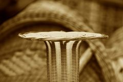 Fotografia di riserva unica dell'oggetto degli artigianato di forma rotonda Immagine Stock Libera da Diritti