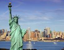 Fotografia do conceito do turismo de New York Fotos de Stock Royalty Free