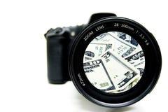 Fotografia do dinheiro imagens de stock