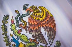 Fotografia do emblema nacional de México imagem de stock