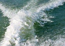 Fotografia do fundo das ondas de água Foto de Stock Royalty Free